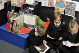 accelerated reader programme at rivers primary academy